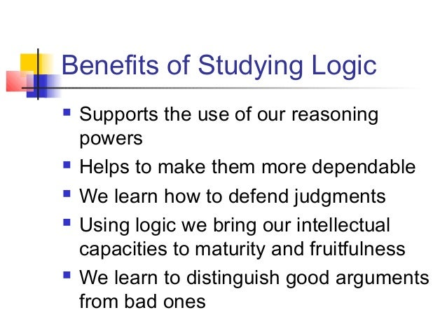 """the importance of critical and logical Logical thinking is the process in which one uses reasoning consistently to come to a conclusion problems or situations that involve logical thinking call for structure, for relationships between facts, and for chains of reasoning that """"make sense."""