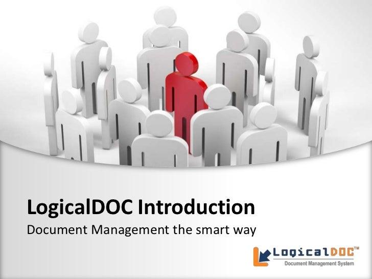 LogicalDOC Introduction