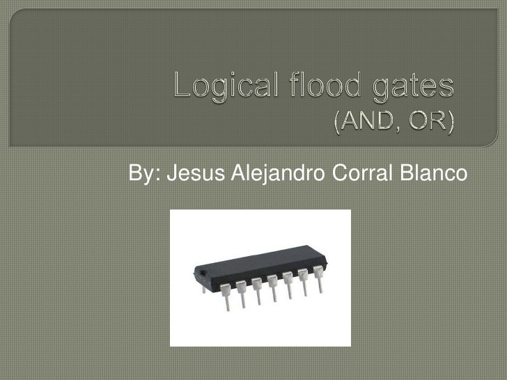 Logical flood gates corral blanco