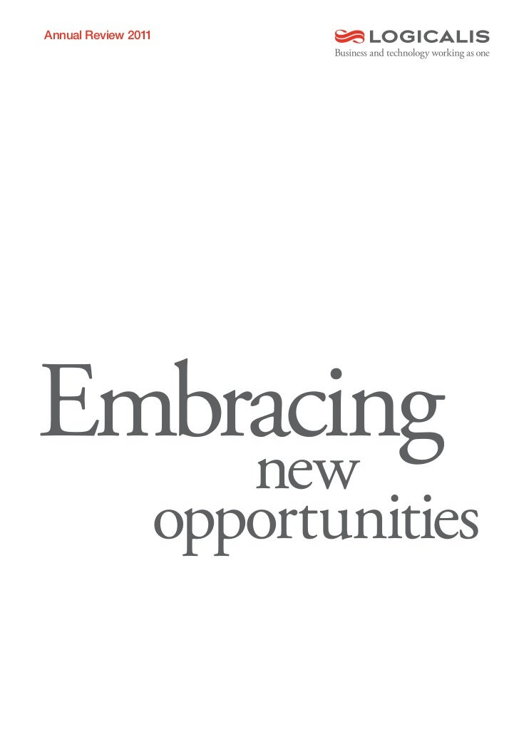 Annual Review 2011Embracing    new                 opportunities