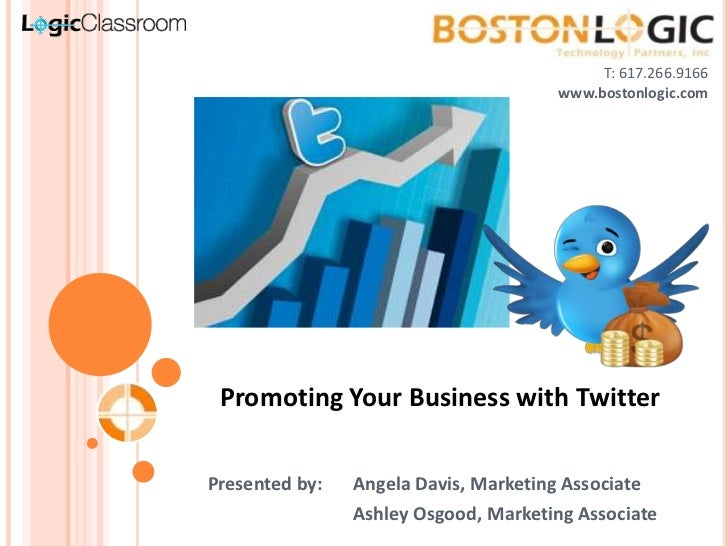 Twitter for Business   LogicClassroom by Boston Logic