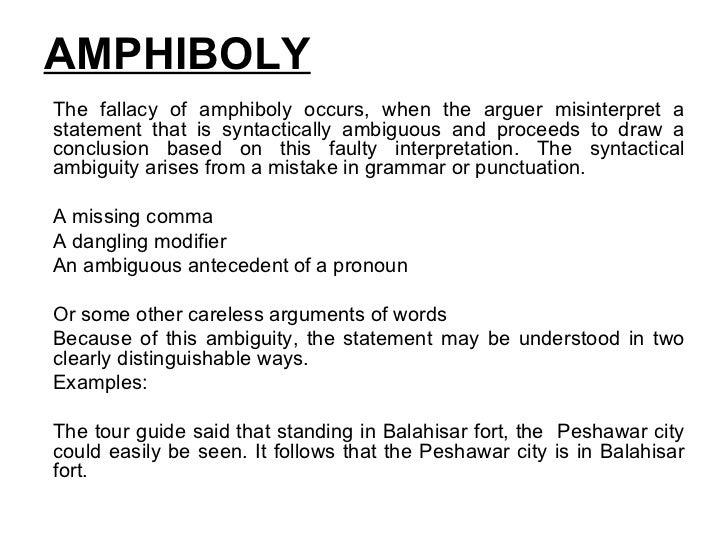 fallacious statements essay