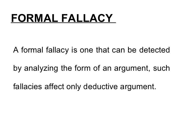 What are fallacies in critical thinking