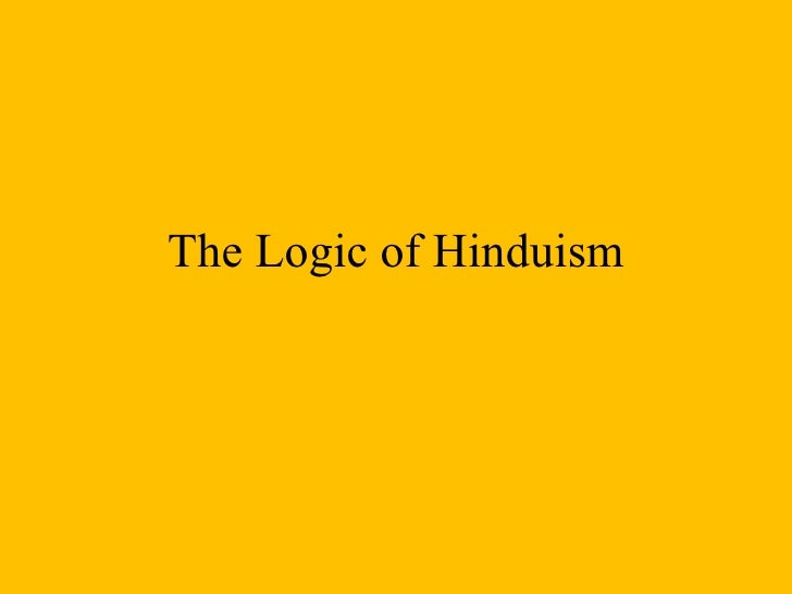 The Logic of Hinduism