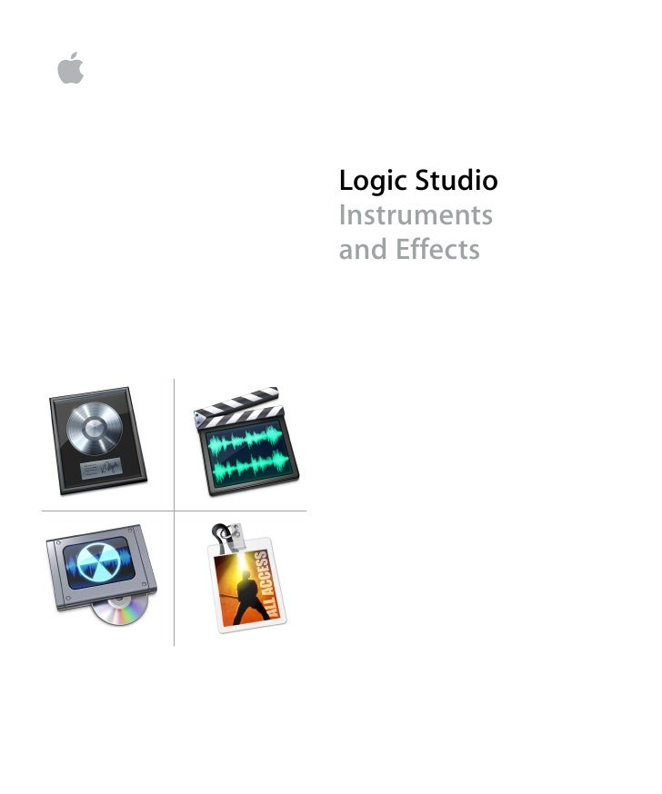 Logic Studio Instruments and Effects