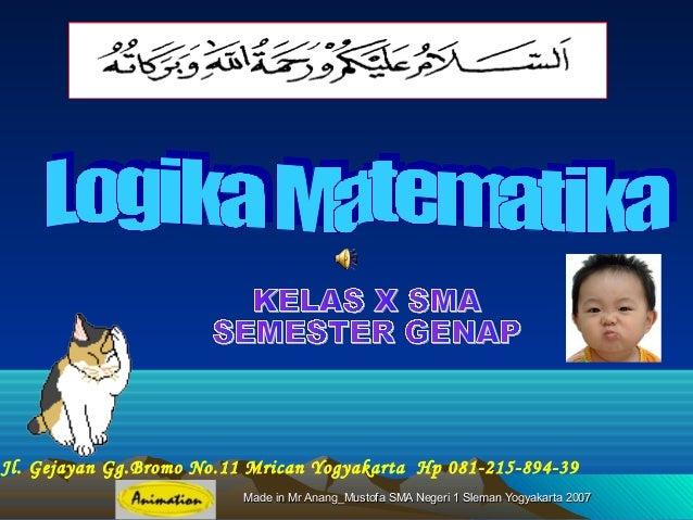 Made in Mr Anang_Mustofa SMA Negeri 1 Sleman Yogyakarta 2007Made in Mr Anang_Mustofa SMA Negeri 1 Sleman Yogyakarta 2007Jl...