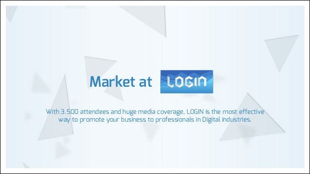 Login 2014 for partners