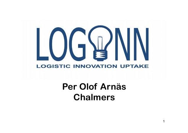LOGINN - Logistics Innovation Uptake