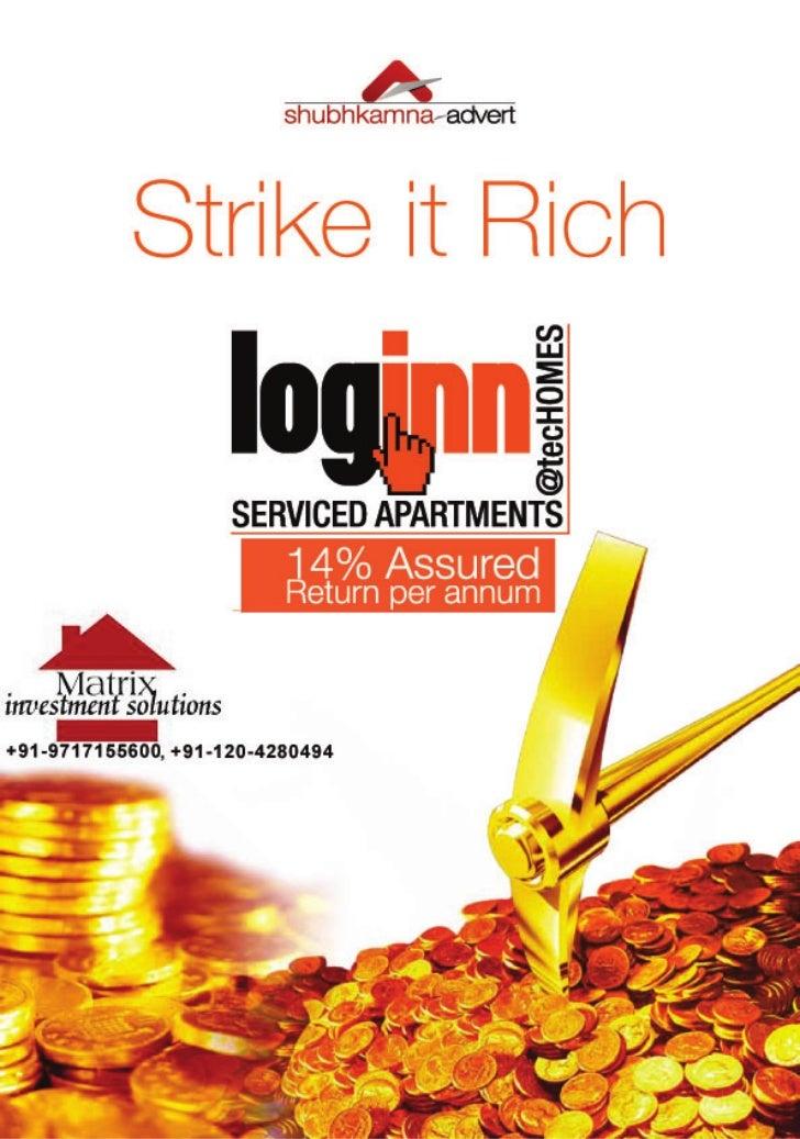 Loginn Studio Apartments 9717155600 Serviced Apartments Shubhkamna Advert