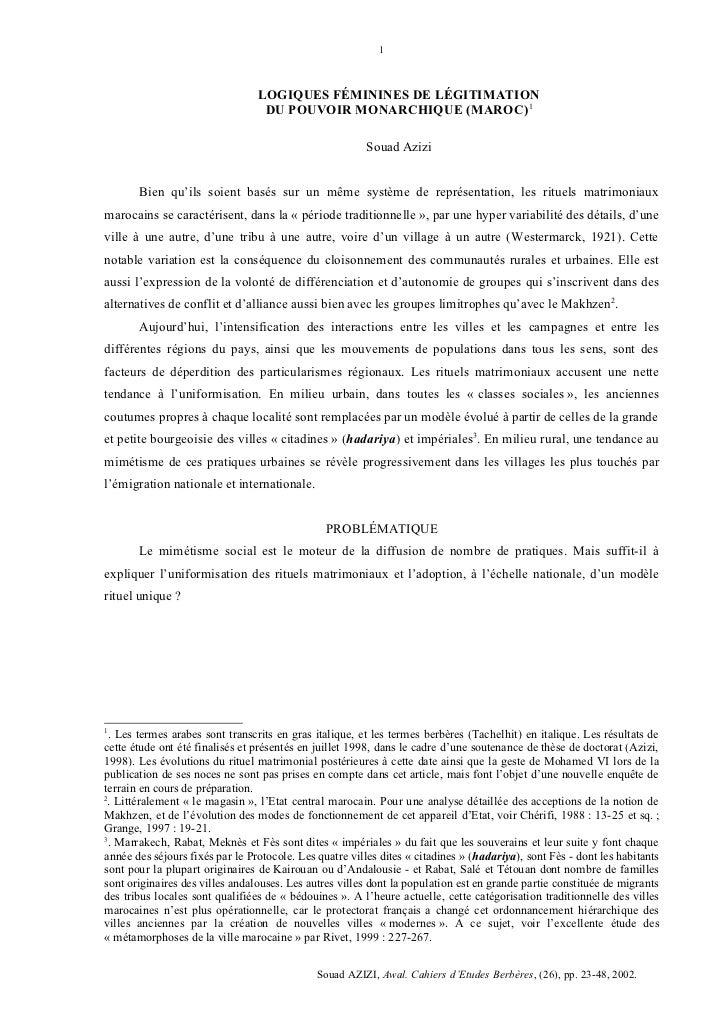 1                                 LOGIQUES FÉMININES DE LÉGITIMATION                                  DU POUVOIR MONARCHIQ...