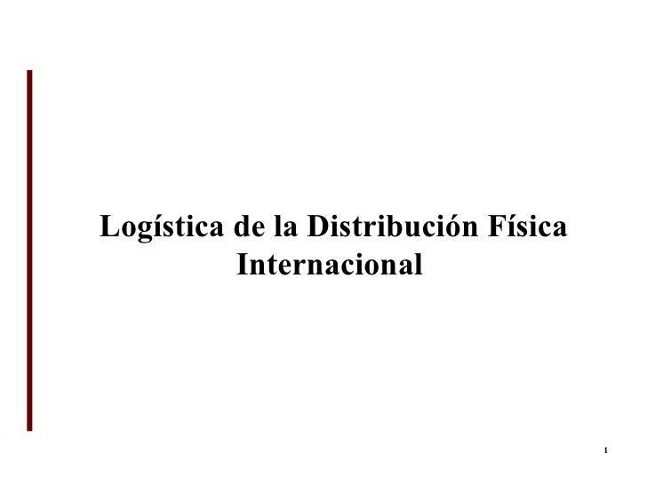 U6 - Logistica