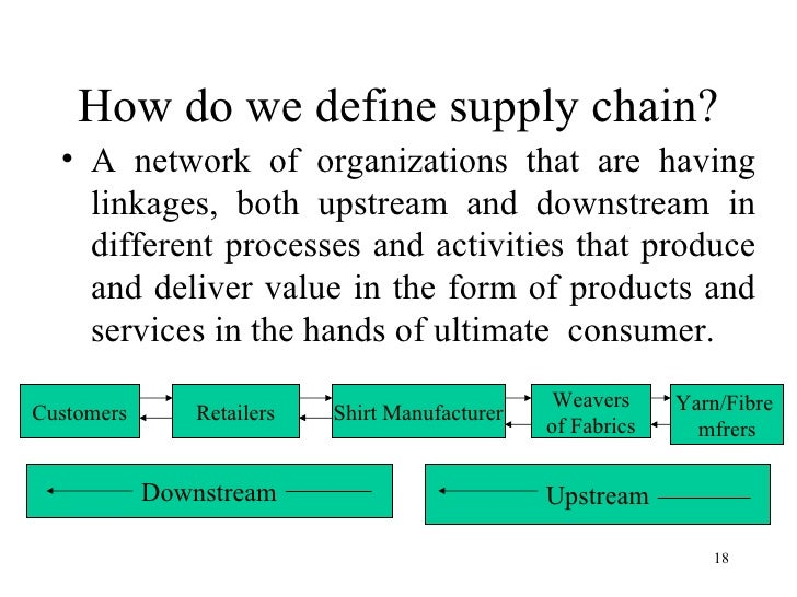 upstream downstream logistics Of all stages in the oil, gas and liquids value chain, downstream operations are   freight and logistics for improved supply chain management downstream.