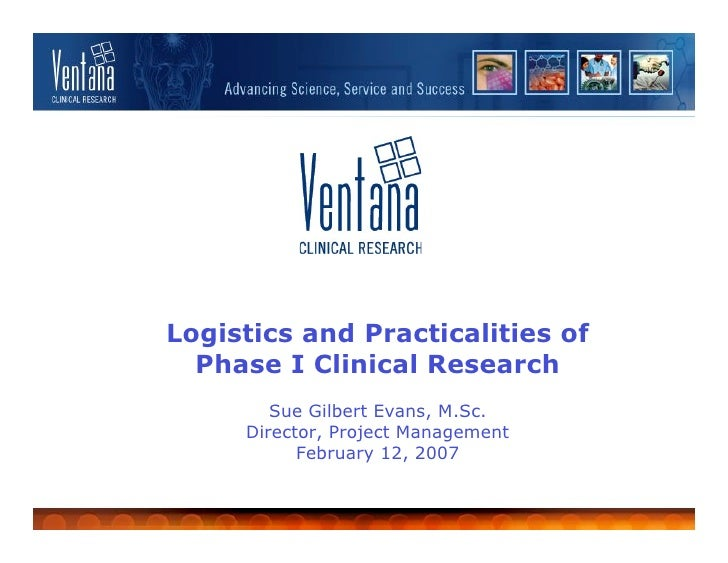 Logistics and Practicalities of Phase I Clinical Research