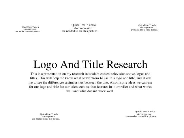 Logo and Title