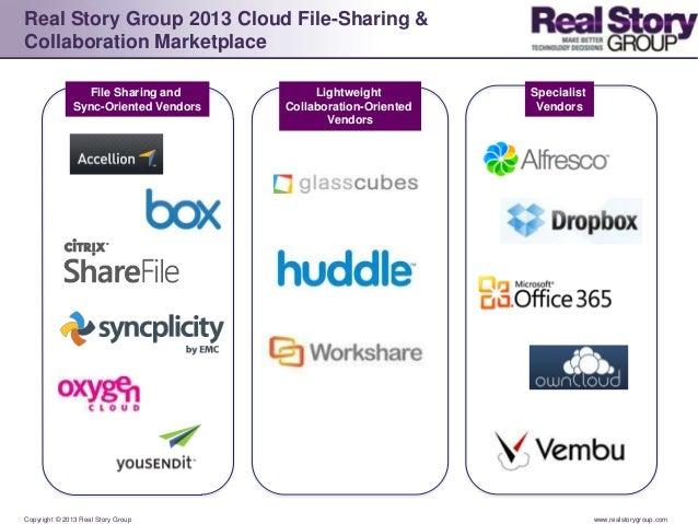 2013 Cloud File Sharing & Collaboration Logo Landscape