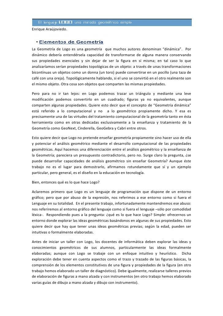 Logo una mirada didáctica (Parte1)