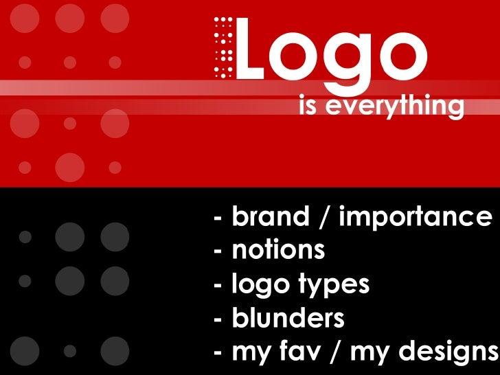 Designing Logos - a jumpstart
