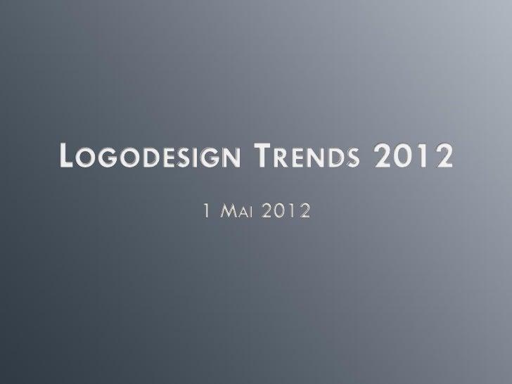 Logodesign Trends 2012