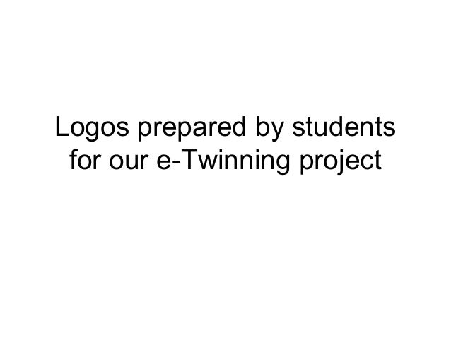Logos prepared by students for our e-Twinning project