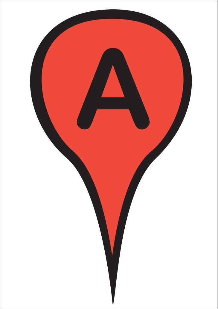 """Imagen de """"Google Maps"""" y """"Me gusta"""" de Facebook"""