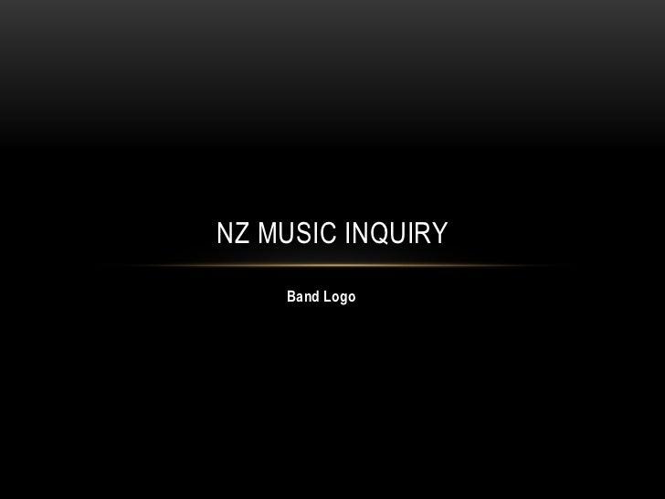 NZ MUSIC INQUIRY    Band Logo