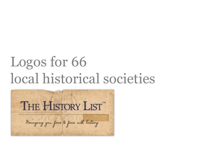 Logos for 66 local historical societies