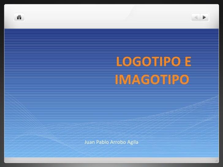 Logotipo e Imagotipo