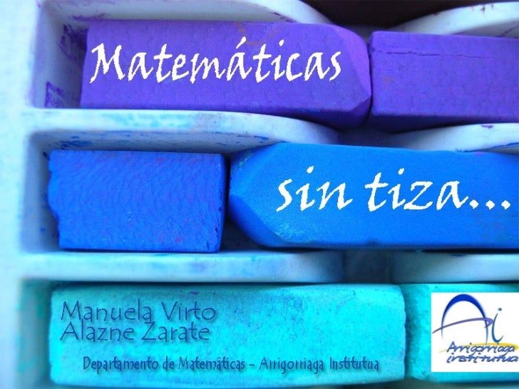 Matematicas sin tiza