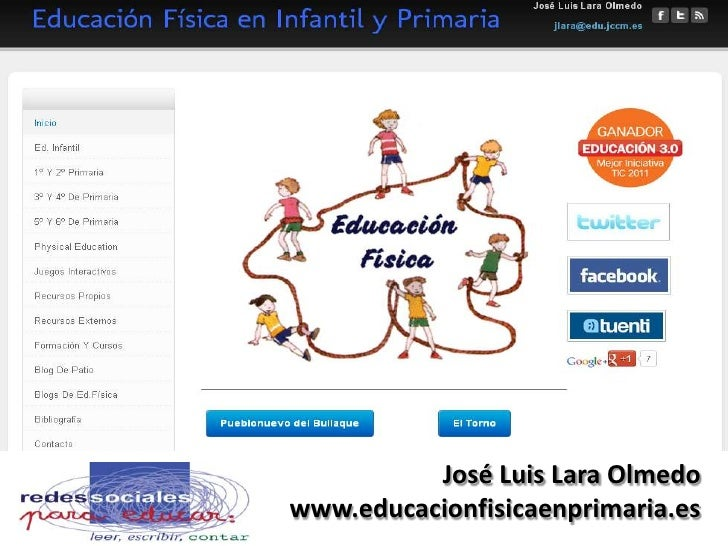EL DEPORTEDE LA ORIENTACIÓN               José Luis Lara Olmedo     www.educacionfisicaenprimaria.es