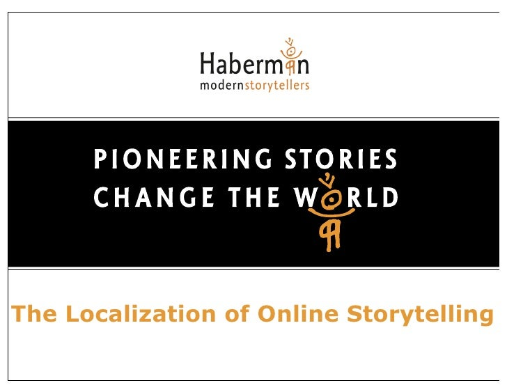 The Localization of Online Storytelling