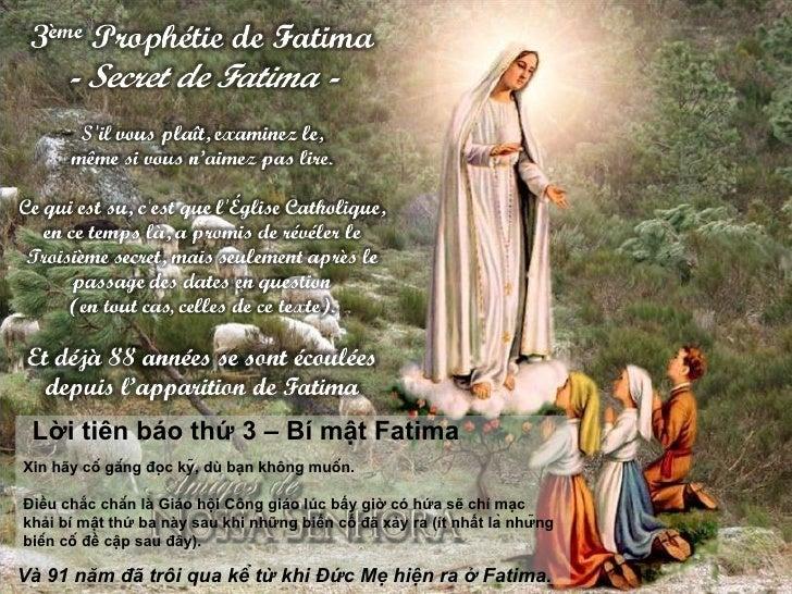 Loi Tien Bao Iii Fatima