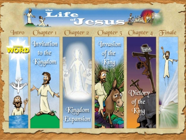 An Cartoon Illustrated Journey through the Life of Jesus