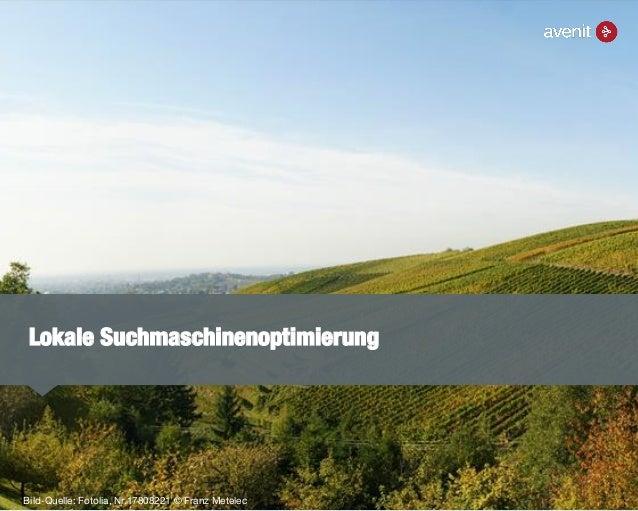 Lokale Suchmaschinenoptimierung Bild-Quelle: Fotolia, Nr.17808221 © Franz Metelec