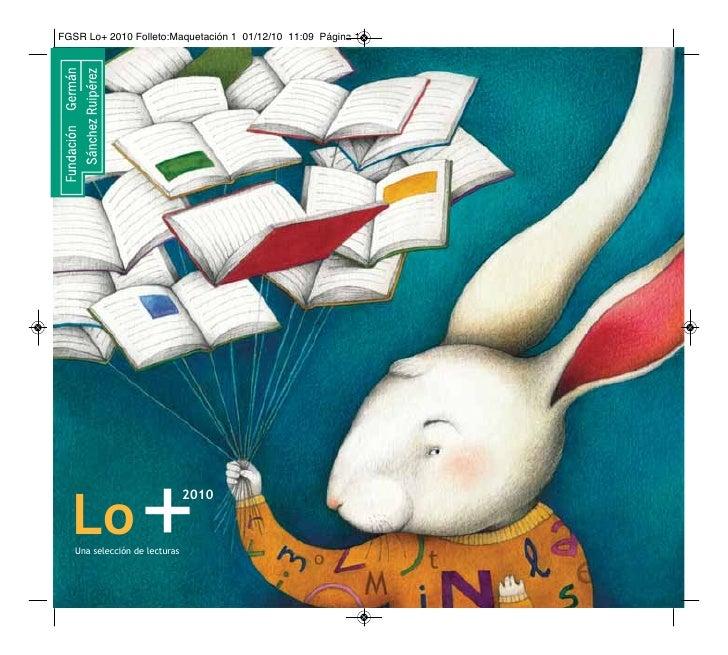 Lo             +Una selección de lecturas                            2010
