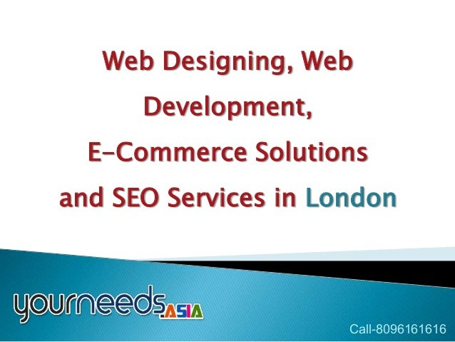 HTML5 Website Designing London | India | UK E-Commerce Solutions
