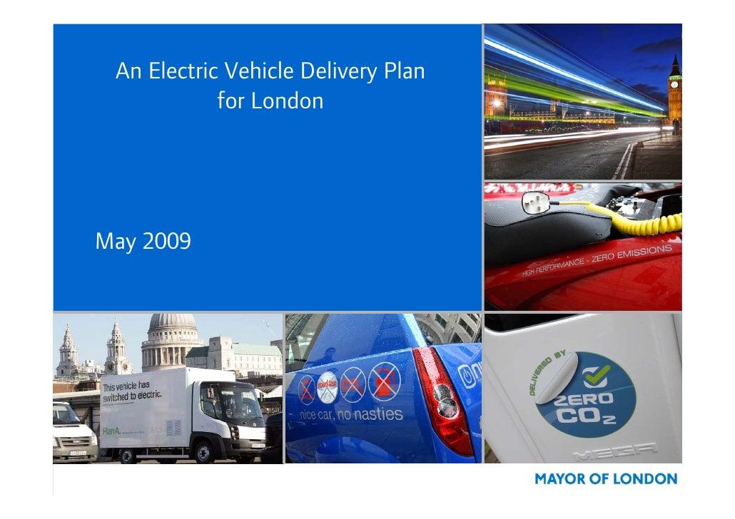 London  Electric Vehicles Plan