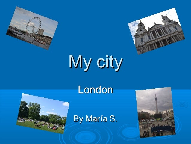 My city London By María S.