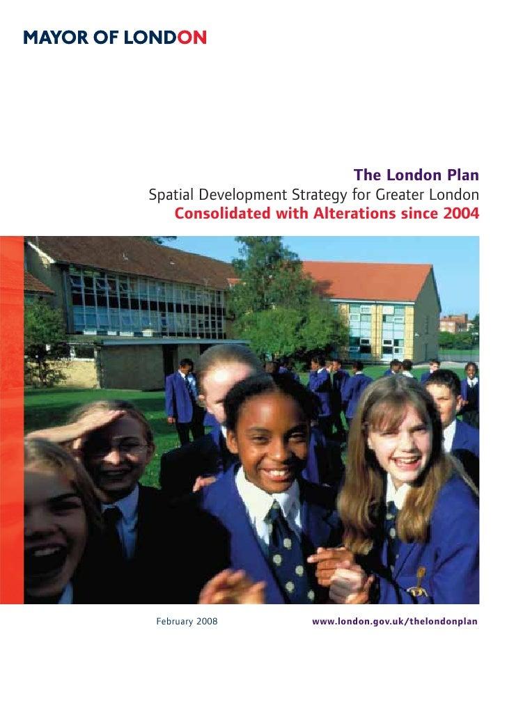 London Plan 2008 (Full)