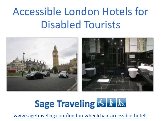 Wheelchair Accessible London Hotels