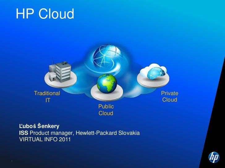 HP: Implementácia cloudu s HP