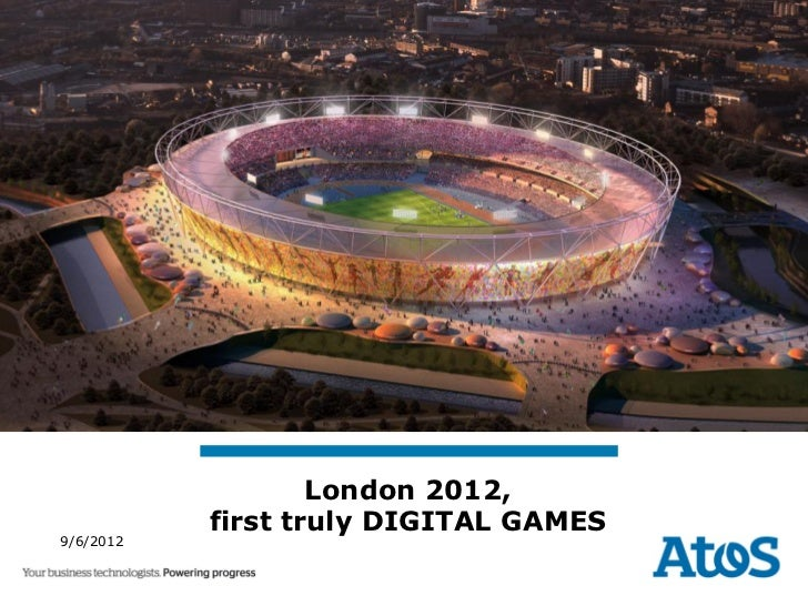 London 2012 First truly Digital Games