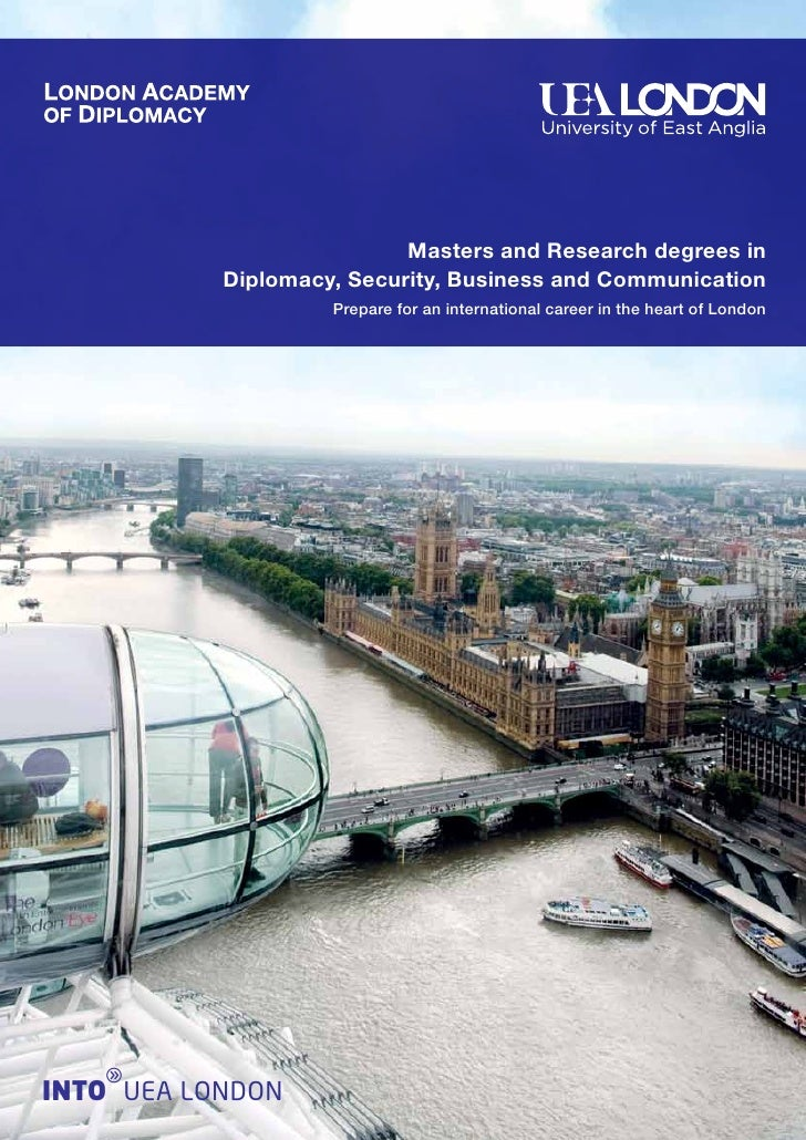London Academy of Diplomacy brochure - Intelligent Partners
