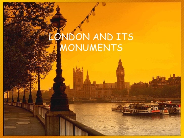LONDON AND ITS MONUMENTS