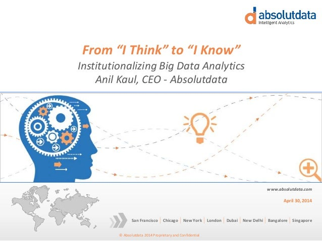 From 'I think' to 'I know'
