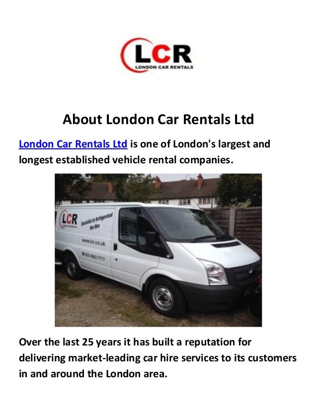 london car rental: