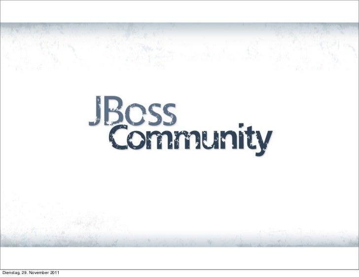 November JBUG - Heiko Rupp: 'RHQ & JBoss ON'