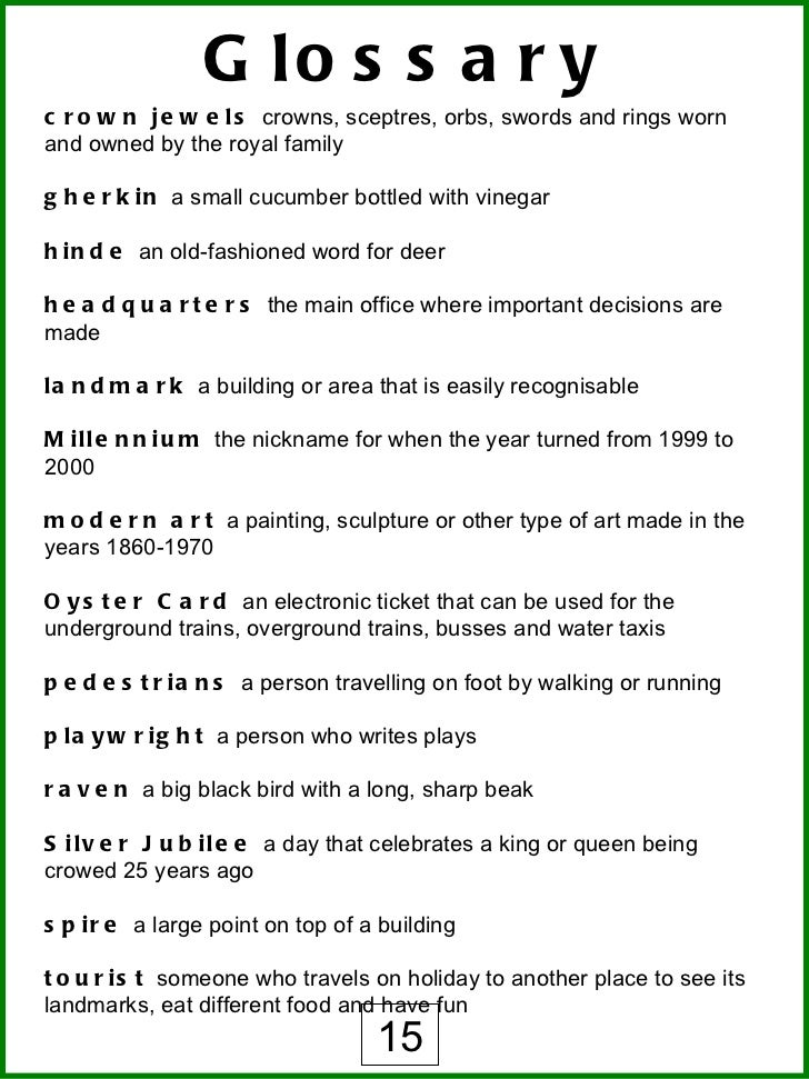 dictionary newspaper terms