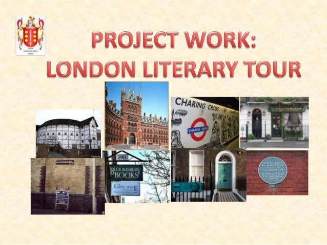 Now that both our trip to London and the Book Festival are approaching, why not explore some of the city's literary landma...