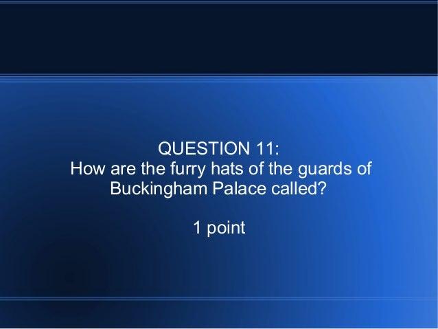 London Quiz 2012