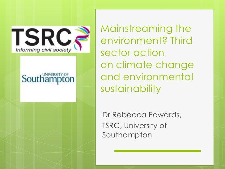 London seminar mainstreaming_the_environment